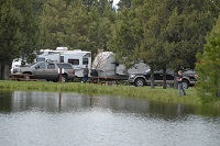 RV'ers Along the Lake